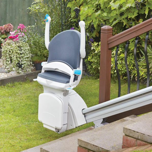 1000 outdoor stair lift fold up handicare