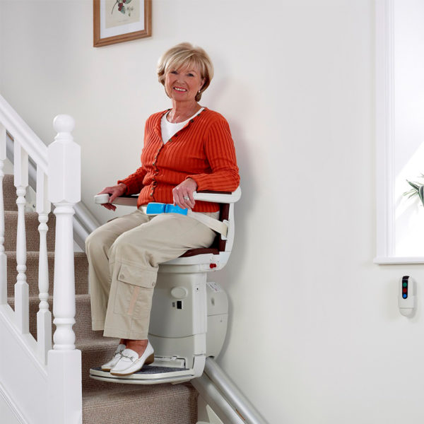 1000 stair lift in use handicare 600x600