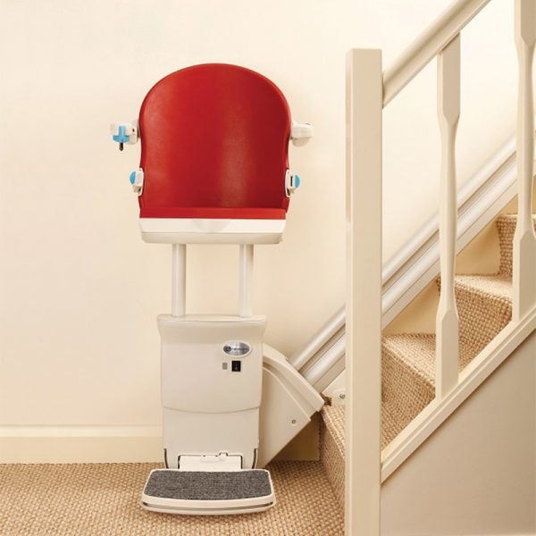 1000 stair lift perch seat installed handicare