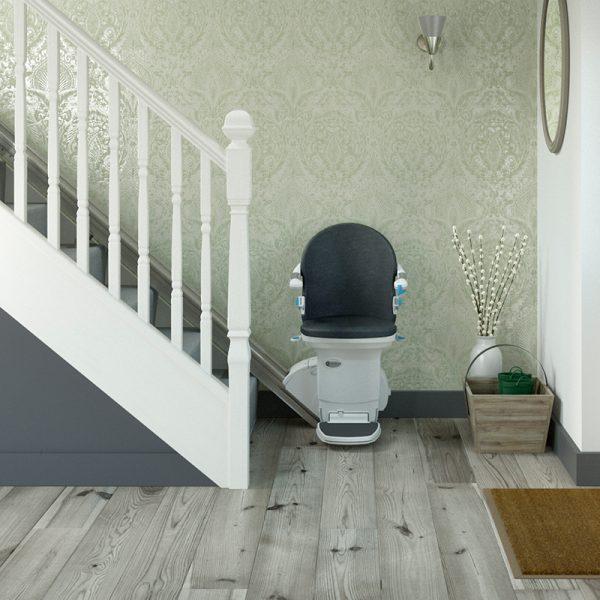 950 plus stairlift smart seat slate installed handicare
