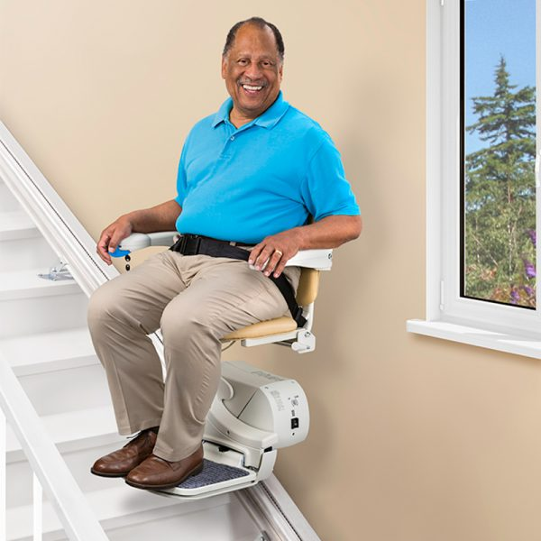 950 stair lift in use handicare