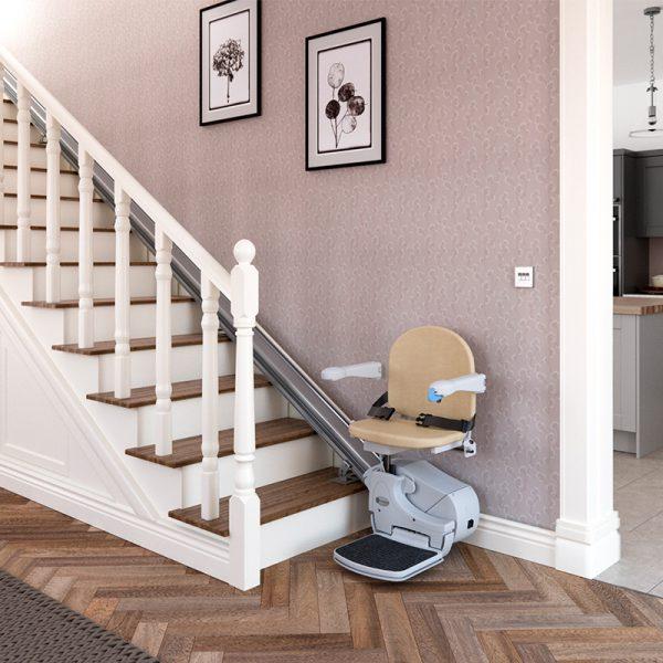 950 stairlift installed handicare