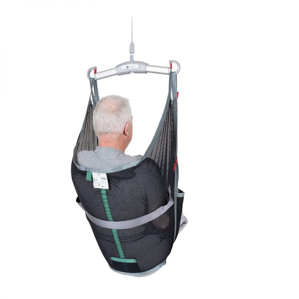 amp sling polyester net back view handicare 1
