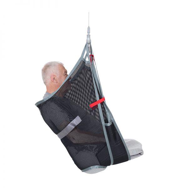 amp sling polyester net side view handicare