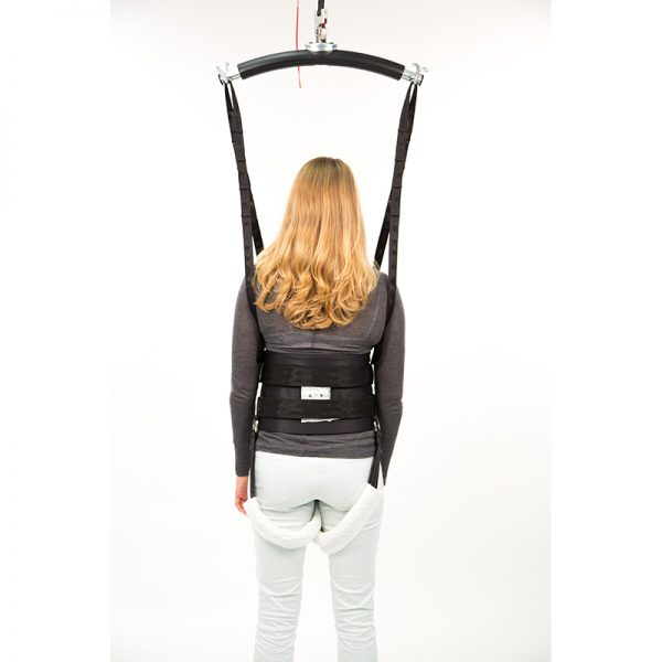 deluxe walking sling back view handicare