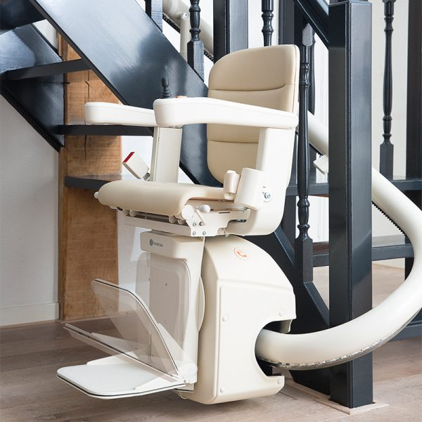 freecurve stair lift powered foot rest handicare