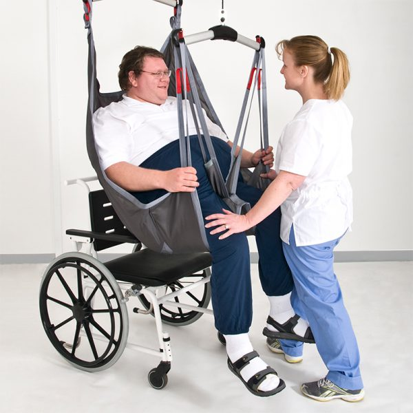 handicare application sling seated position 600x600