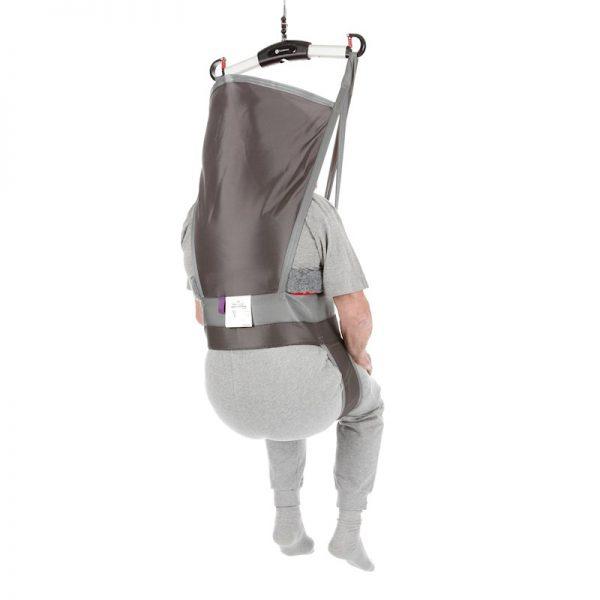 hygiene high back sling back view handicare 2
