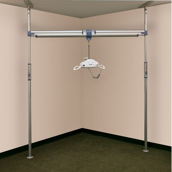 pressure fit ceiling track system handicare