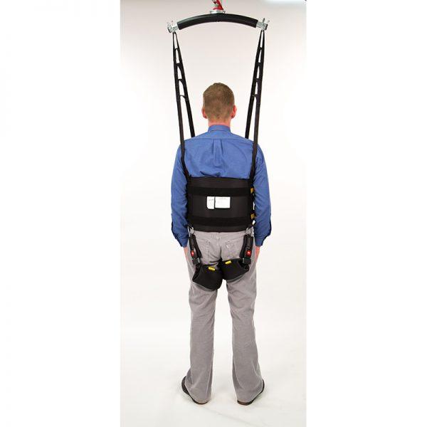 rehab walking sling back view handicare