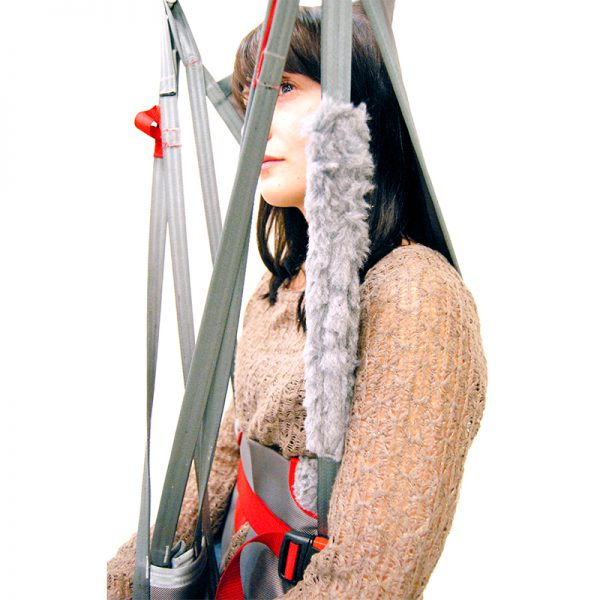 straps padding in use handicare 1