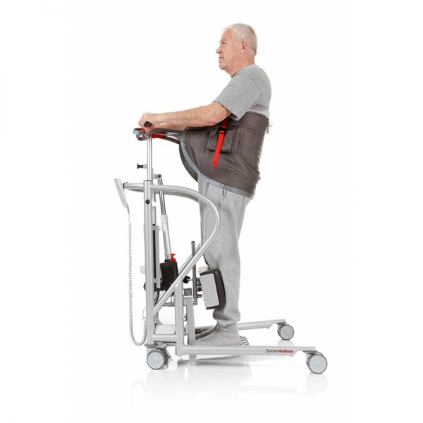 thorax sling seat support in use side view handicare