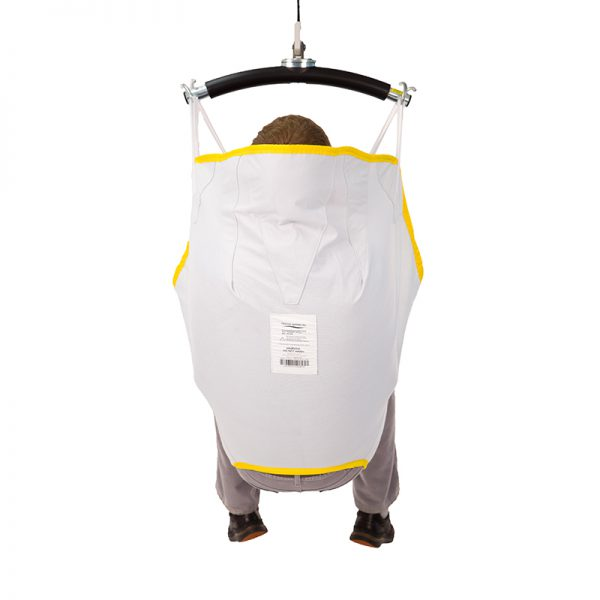 universal sling disposable back view handicare
