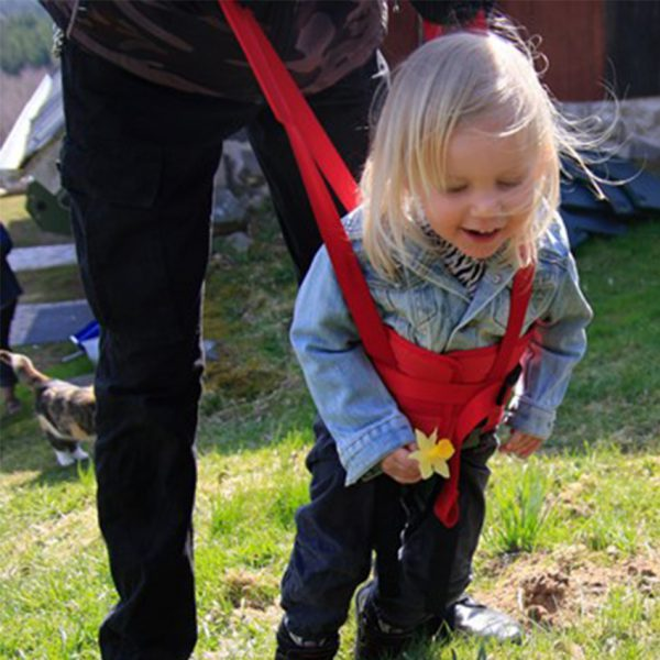 walking belt in use with parent handicare 600x600