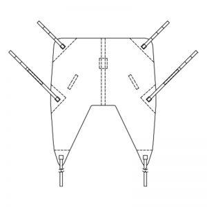 bc universal mesh sling