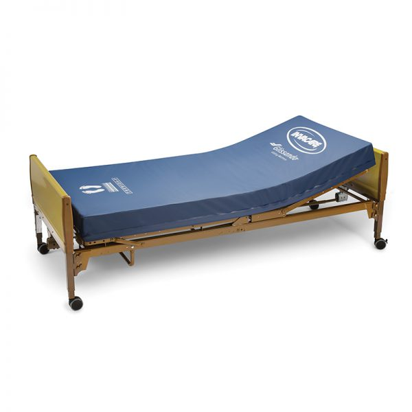 invacare glissando gliding mattress raised 2